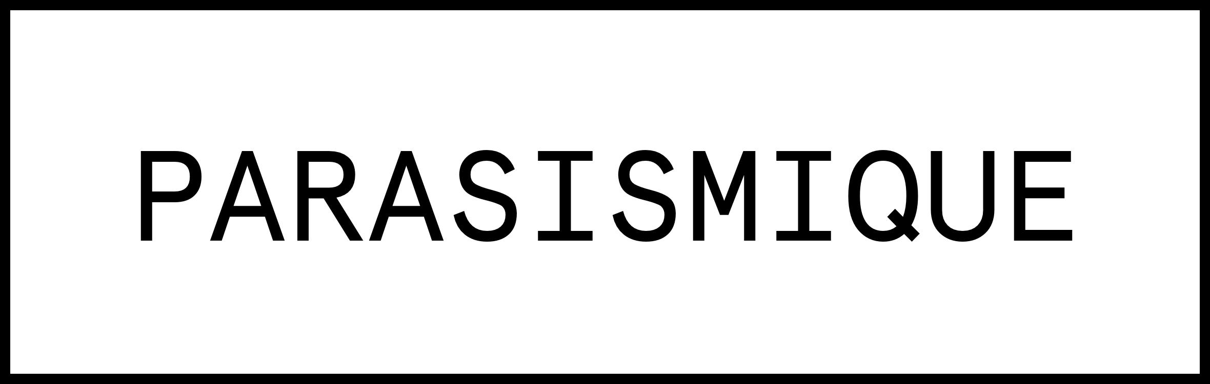 logo parasismique
